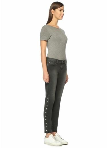 Slim Fit Denim Pantolon-Iro Denim